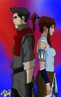 We Have To Work Together *Makorra* by ChibiDuelist
