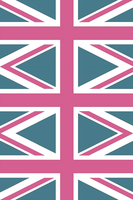 Union Jack (Pink Edition) Custom Module Background by Kezzi-Rose