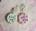 Alice in Wonderland Eat Me Necklaces by Meow-Box