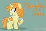 Pumpkin Cake by Toodles3702