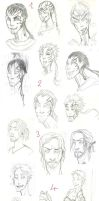 No muse for today: So Sketchdump time! by M-I-D-S