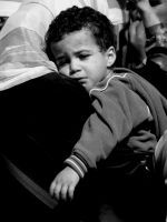 Mother and child at Rafah by restlesswanderer