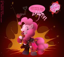 MLP: Theron Pinkie Pie by foolyguy