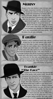 Noir: Background Characters by DJCoulz