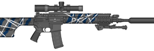 NEW Marksman Rifle by Ghost17XD