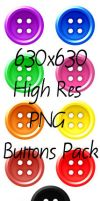 PNG Buttons Pack by Anavrin2010
