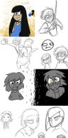 The Legend of Homestuck Persona and new peeps by Siro-Cyl