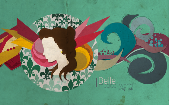 Belle magical world by turky-hadi