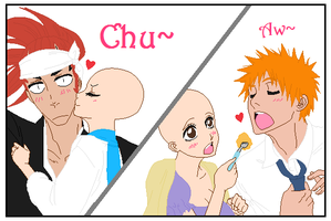 Renji and Ichigo Base~ by Ichigoslover101