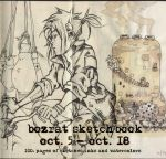 Hjeojeo-Bozrat sketchbook from first half of Oct. by HJeojeo