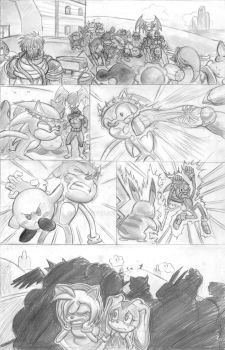 Crucifixion of Sonic pg 3 by lyssaspex