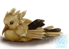Baby Zapdos by RadiantGlyph