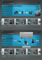 RapidCraft Interface by webgraphix