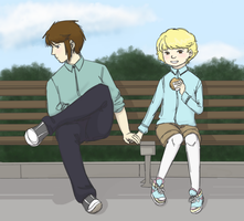 Holding Hands by kassie