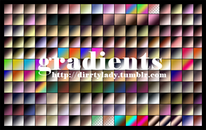 GRADIENTS 4 dirrtylady by dirrtylady