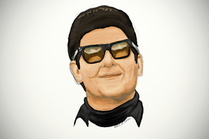 Roy Orbison Portrait 4 by TheBigDaveC