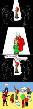 Ellie at the Party: UT CPAU Fancomic Pt 5 by HeavenSentTenshi