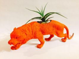 Tiger Planter by CadmiumCrab