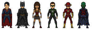 New Justice League style by Rated-R4-Ryan