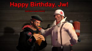 gmod - Happy Birthday, Jw! by Stormbadger