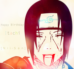 Happy Birthday Itachi by sasuke