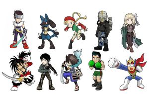 Game Heroes pack 13 by Fandias