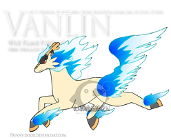 Fake Pokemon - Vanlin by Prinny-Dood