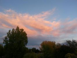 cotton candy - like skies by bloody-magpies