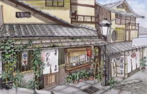 Summer in Kyoto by Rei-tanna