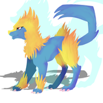 Manectric by TheCrystalSpirit
