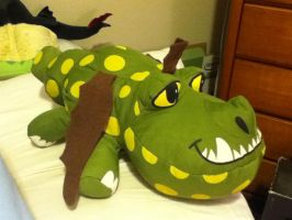 2014 Toy Factory HTTYD2 Meatlug Plush by PokeLoveroftheWorld