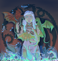 Daenerys Stormborn by naomi-makes-art73