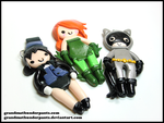 Batty Bad Girls by GrandmaThunderpants