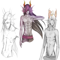 Some Sexi Bois by Jackelfoot