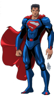 Superman Redesign IV by mase0ne