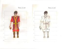Zuko color by wolverineluver45