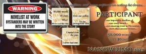 NaNoWriMo 2012 Facebook Cover (01) by JuliaWoodrow