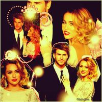 Miley and Liam by onlmileyrcyrus