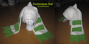 Terriermon Hat by SethImmortal