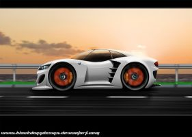 BMW ZX Concept by blackdoggdesign