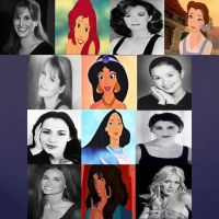 Disney Leading Lady Voices in Movies Part 2 by dramamasks22