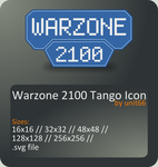 Warzone 2100 Tango Icon by Unit66