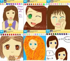 Draw Something!!! (girls edition) (Day 96) by Hedwigs-art