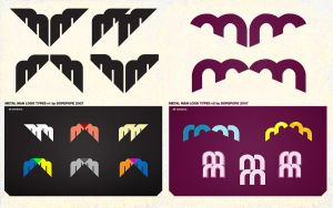 MM logos versions 1 - 2 by dopepope