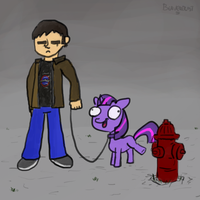 The downside of having a pony by Beaverblast