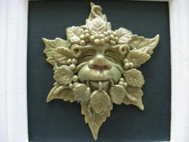 Little Greenman.(close-up) by milliefleur