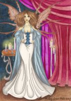 Queen and Candlelight by Audriana