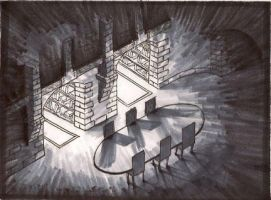 shadows in isometric by Immortalchaos1