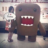 Me And Domo-kun by KayneRamsey