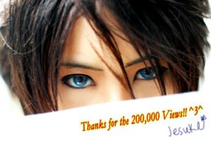Thanks for 200,00 Page Views by Jesuke